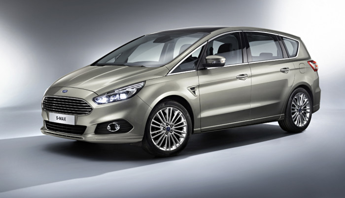 Ford Reveals All-New S-MAX; Trail-Blazing Sports Activity Vehicl