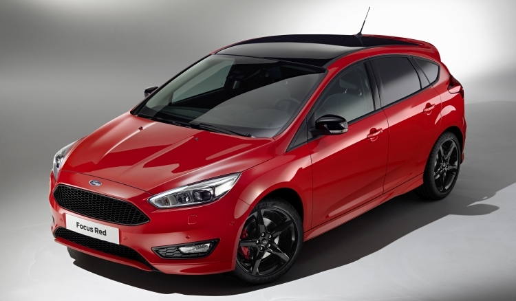 Ford Focus Red & Black Edition art1