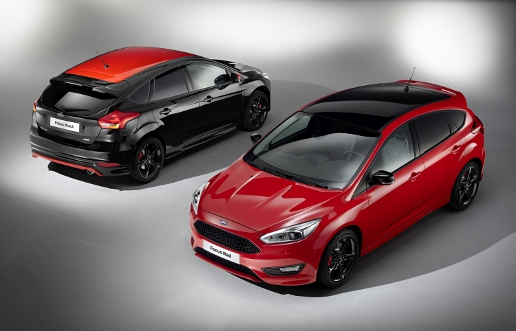 Ford Focus Red & Black Edition art2