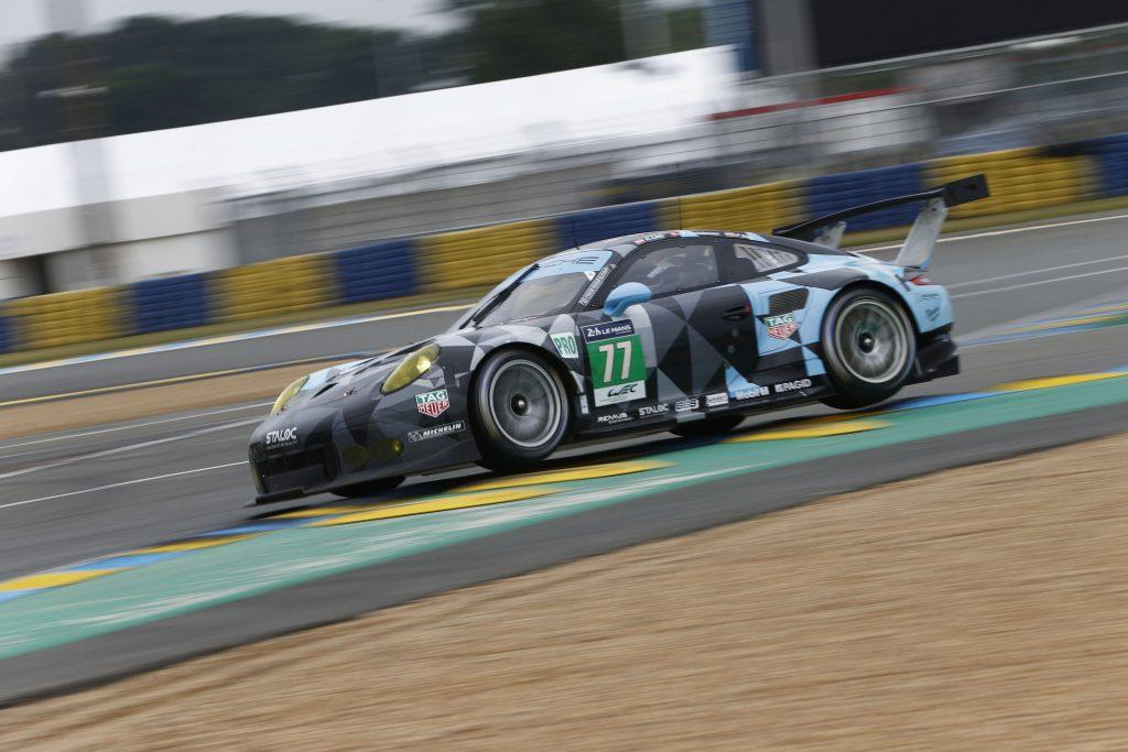 Porsche 911 RSR (77), Dempsey Proton Racing : Richard Lietz, Michael Christensen, Philipp Eng