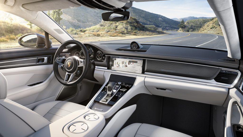 interior Panamera Turbo