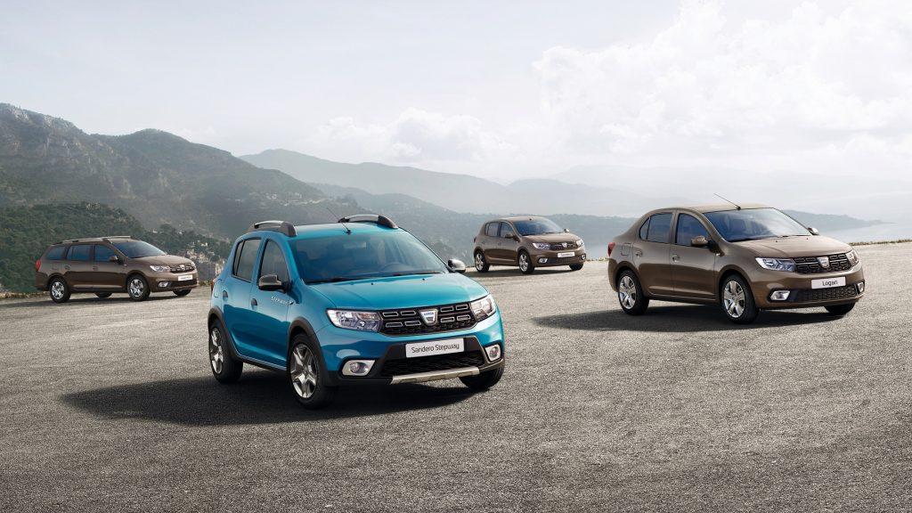 Gama Dacia 2017