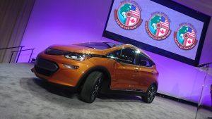 Chevrolet Bolt, câștigătorul premiului North American Car of the Year