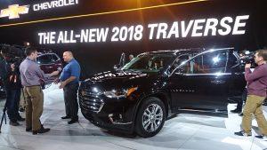 SUV-ul Chevrolet Traverse a văzut o restilizare pentru a-și păstra prospețimea