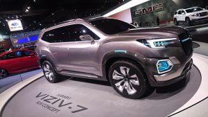 Subaru VIZIV-7 Concept, sau viziunea japonezilor de la Subaru pentru viitoarele SUV-uri ale mărcii