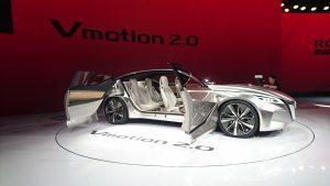 Conceptul celor de la Nissan, Vmotion 2.0 se spune că va prefigura viitoarea generație a modelului Altima