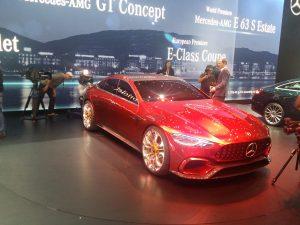 Mercedes-AMG GT Concept, sau cum va arăta viitorul CLS