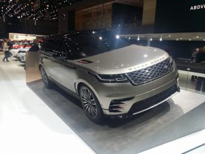 Land Rover Velar, frumos cu F mare