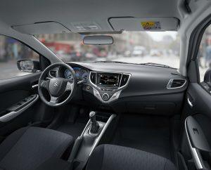 Suzuki Baleno - interior