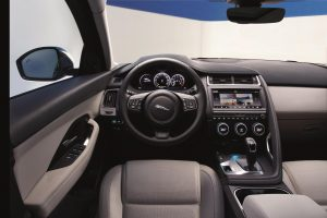Jaguar E-PACE- Interior