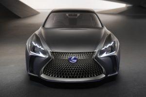 green - ls fuel cell lexus