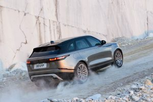 Range Rover Velar test drive - rear view