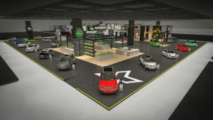 Fascination: Opel is building a stand that resembles a town called Crossville where the brand will celebrate the world premieres of several new models, including the Grandland X SUV.
