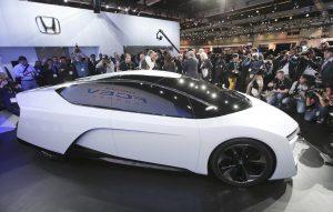 LA Auto Show Honda FCEV