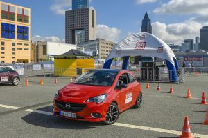 """Germany's best driver: Opel is partnering the competition """"Deutschlands beste Autofahrer"""", which includes several practical driving tests at the Frankfurt show."""