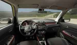 Suzuki Swift Sport - interior
