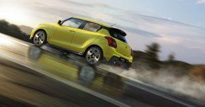 Suzuki Swift Sport - spate