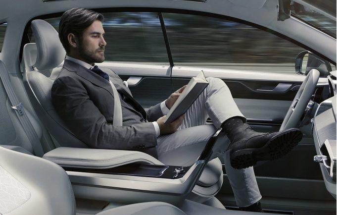 autonomous - volvo, autoliv nvidia AI Daimler