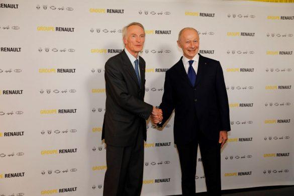 Jean-Dominique Senard și Thierry Bolloré