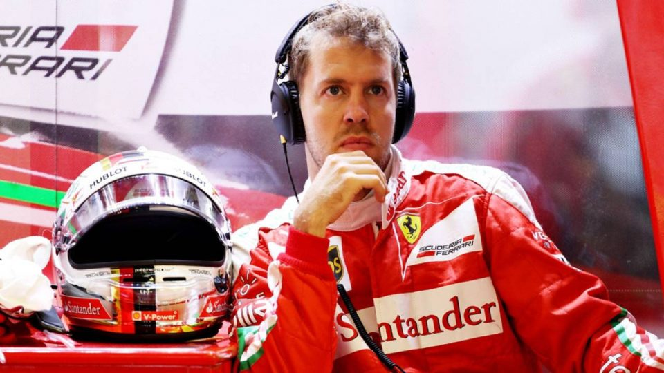 Ecclestone - Sebastian Vettel Ferrari