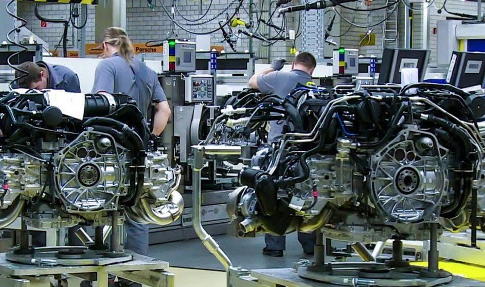 Porsche - uzina motoare